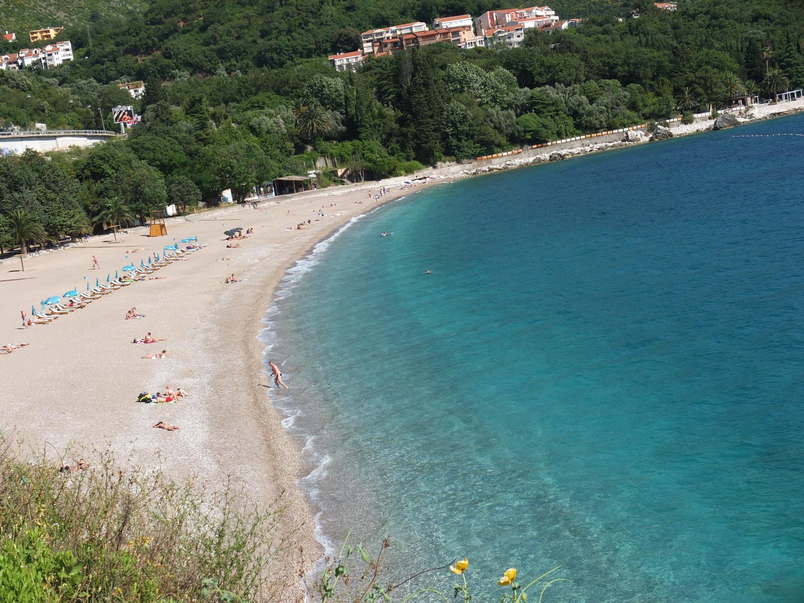 Фото пляжей в бечичи черногория
