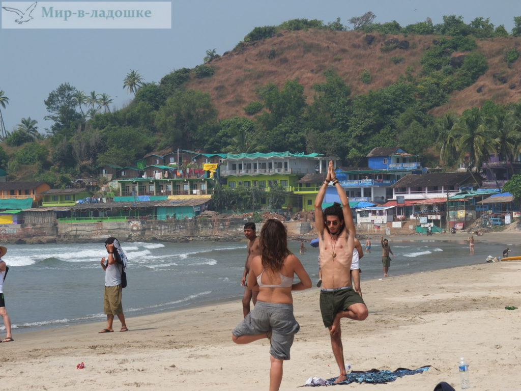 Экстремальные голыши на пляжах
